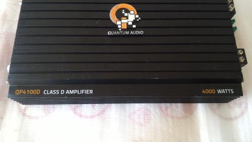 Planta Amplificador Sonido Vehículo Quantum Audio 4000watts