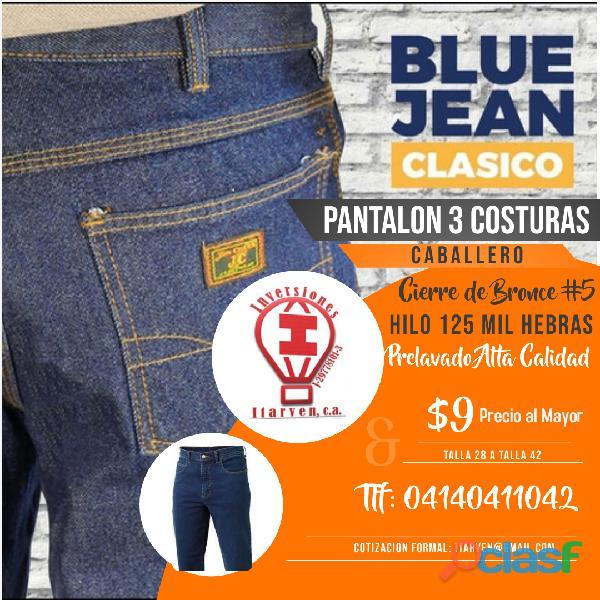 pantalon jeans 3 costuras uniformes
