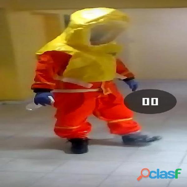 trajes para manipulación de quimicos 1