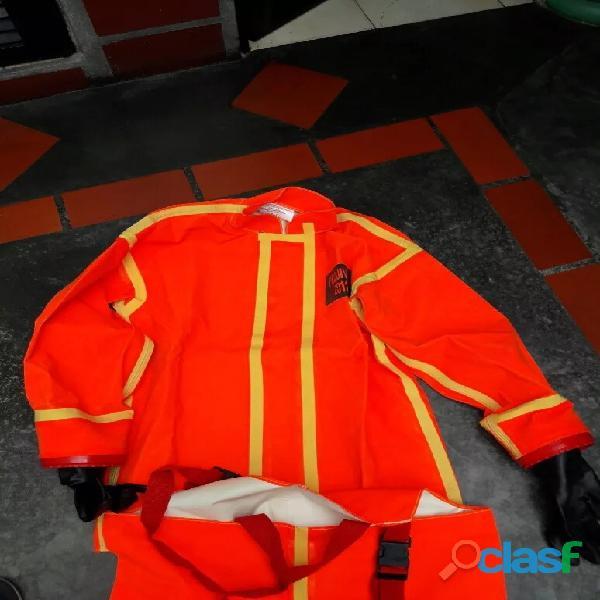 trajes para manipulación de quimicos 3