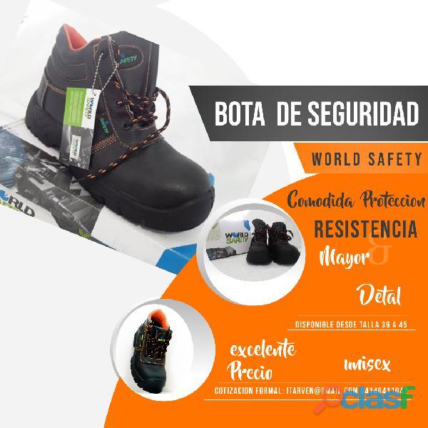 Botas de seguridad punta de acero para obreros y tipo supervisor