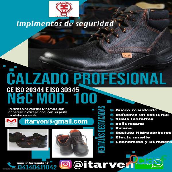 Botas de seguridad punta de acero para obreros y tipo supervisor 2