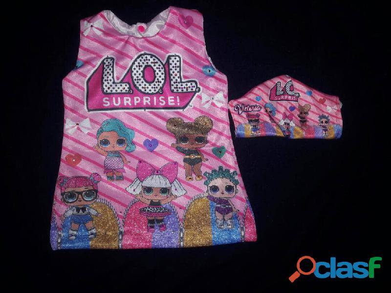 Vestidos personalizados sublimados 9