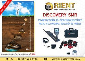 Discovery SMR: Escáner de tierra y detector geoeléctrico