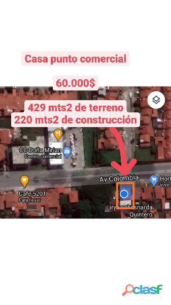 casa punto comercial av colombia alto barinas norte