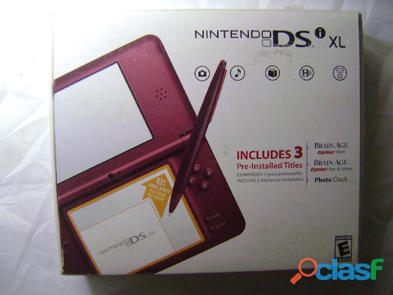 Nintendo Dsi Xl Original 150 Juegos + 3 Juegos De Fabrica