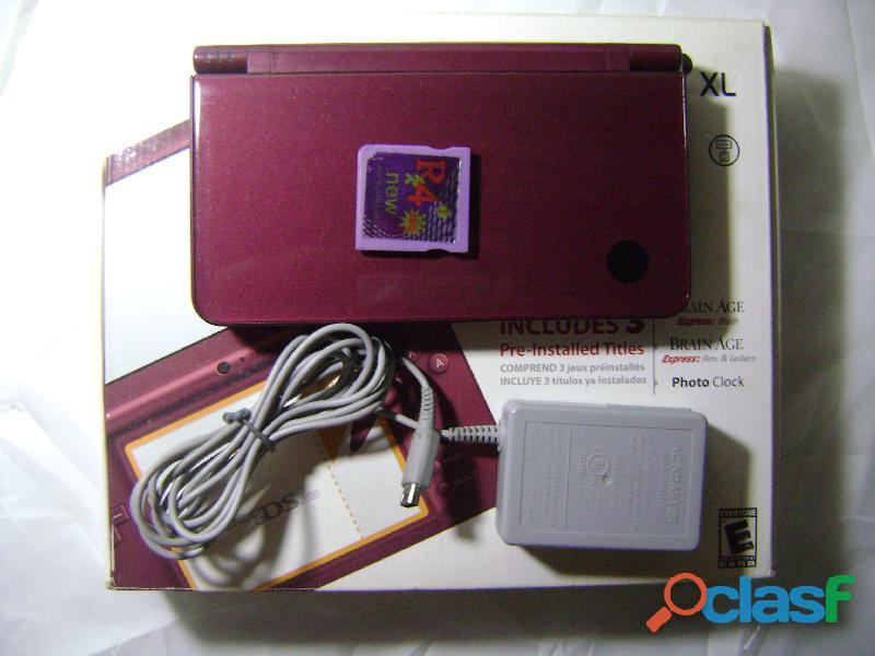 Nintendo Dsi Xl Original 150 Juegos + 3 Juegos De Fabrica 1