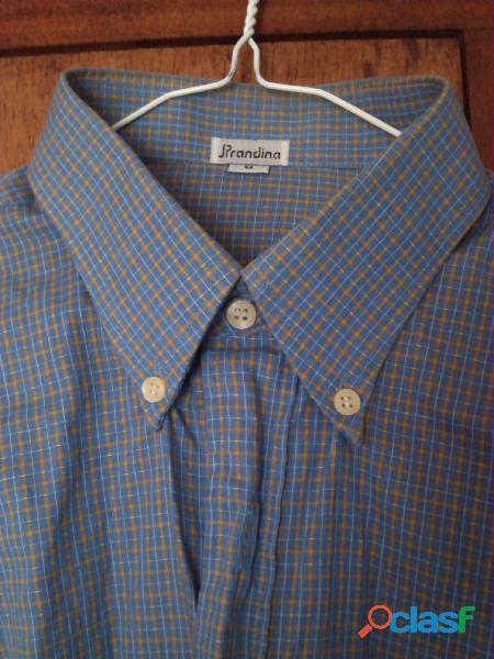Camisa manga larga caballero talla M JPrandina