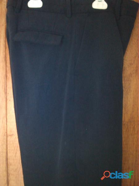 Pantalon de vestir color azul talla 14.