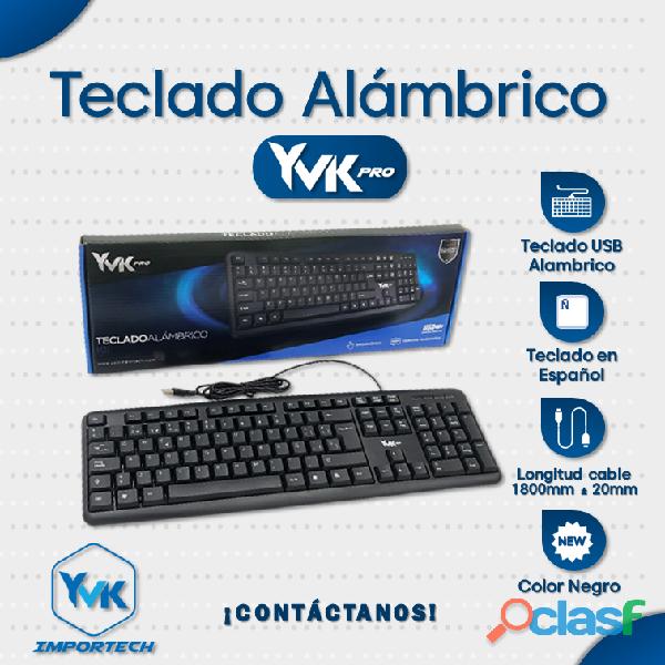 Teclado Alambrico Marca: YVK PRO