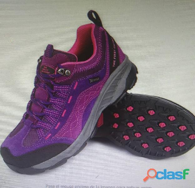 Zapatos deportivos damas, ideal para senderismo
