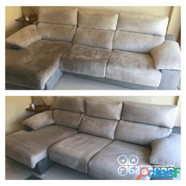 Limpieza de muebles alfombras y tapices