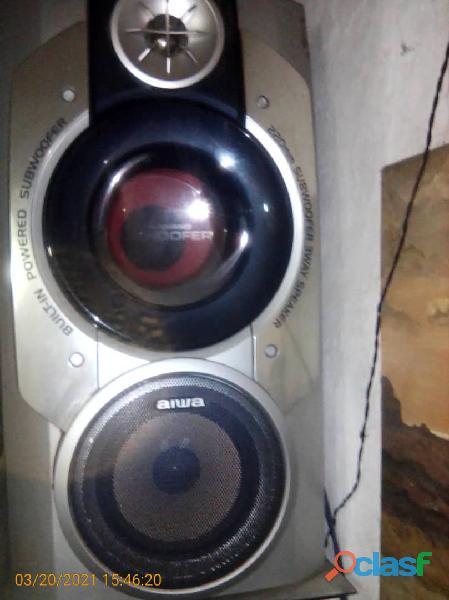 Equipo Sonido con dos cornetas 1