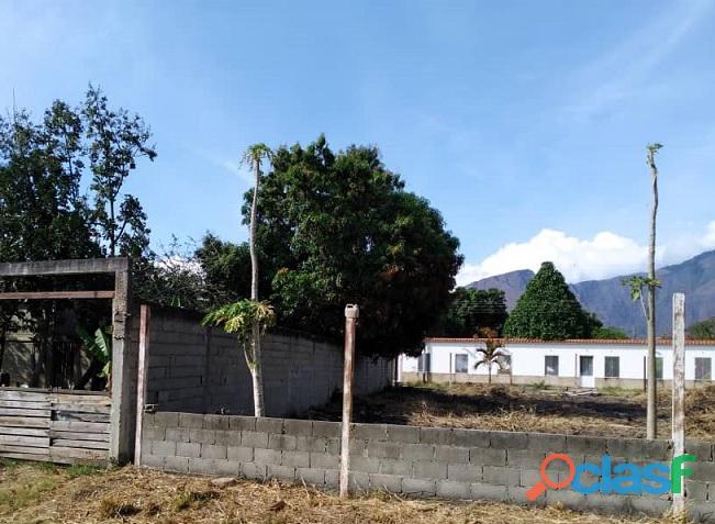 Terreno en sector el toco vía vigirima (guacara  carabobo)
