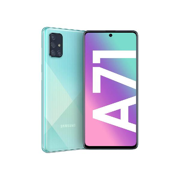 Smartphone Samsung Galaxy A71 128+6GB Azul