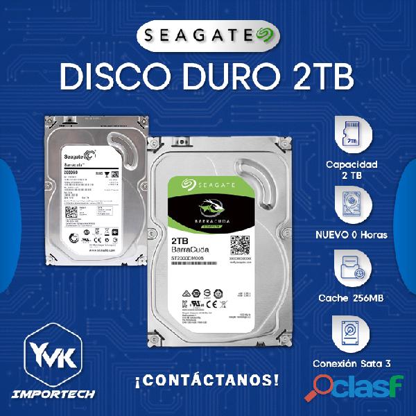 DISCO DURO 2TB SEAGATE BARRACUDA