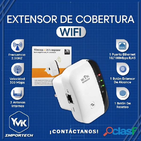 Extensor de Cobertura WIFI.