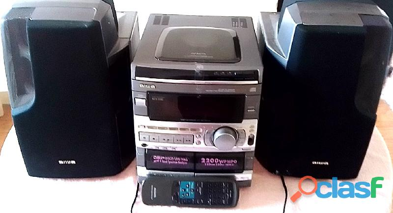 Multi Equipo de Sonido AIWA (Original) 2
