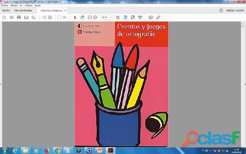 Cuentos y Juegos de ortografia PDF
