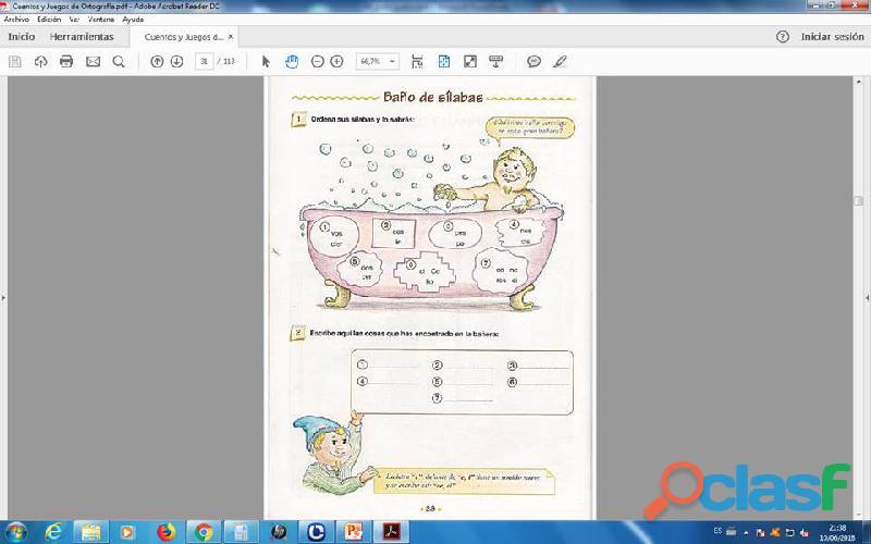 Cuentos y Juegos de ortografia PDF 1