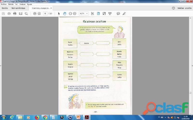 Cuentos y Juegos de ortografia PDF 3