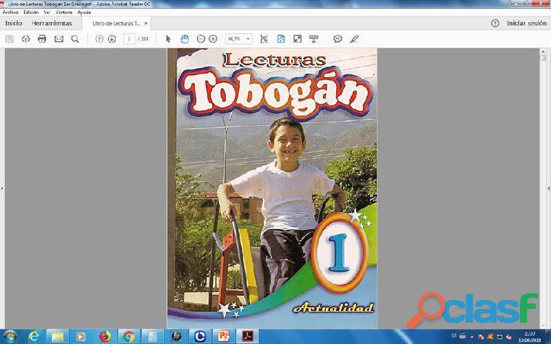 Lecturas tobogan 1er grado pdf