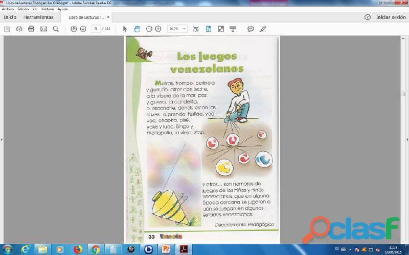 Lecturas tobogan 1er grado PDF 1