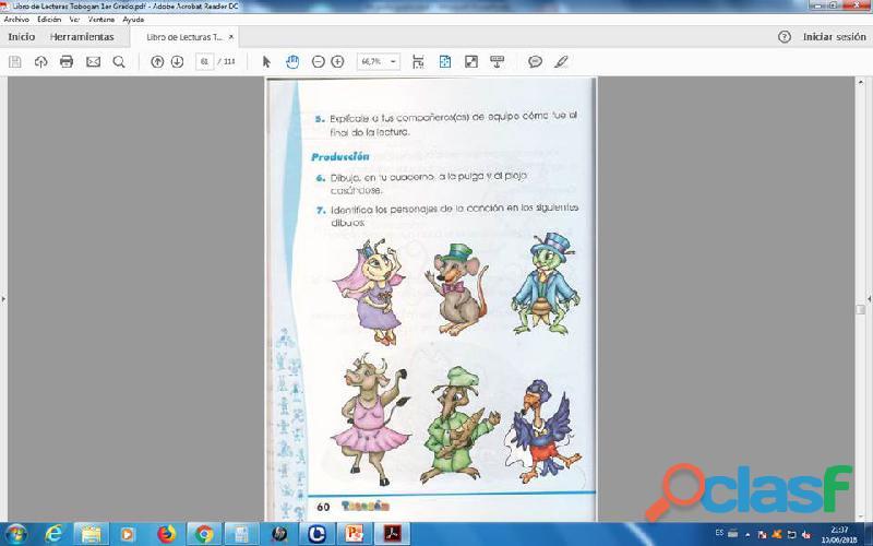 Lecturas tobogan 1er grado PDF 2