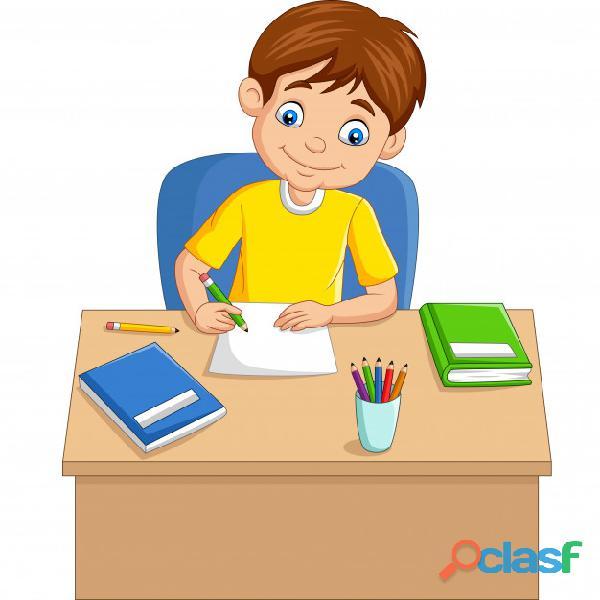 Se realiza tareas escolares 1