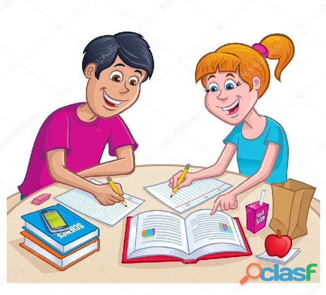 Se realiza tareas escolares 2