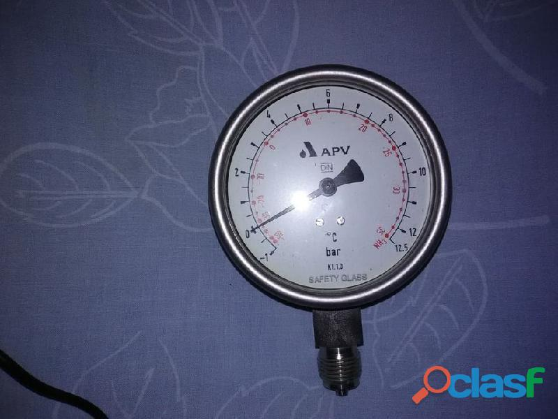 Manómetro para Refrigerante de Amoniaco (NH3) 9