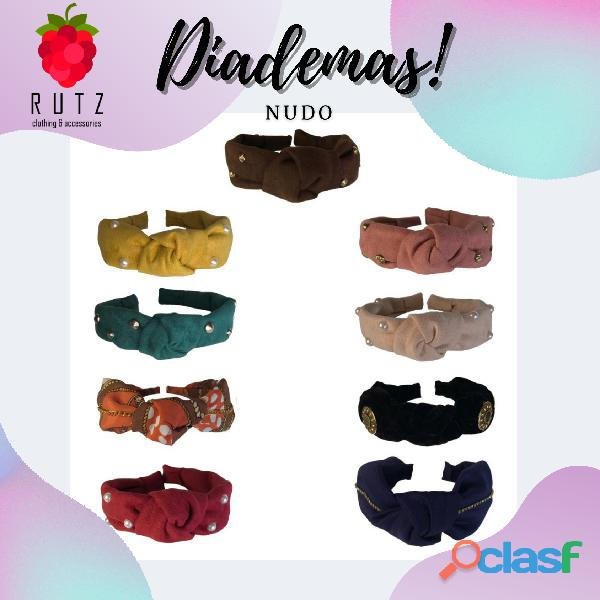 Diadema Scrunchies, Cintillos, Headbands 1