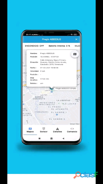 Gps 3G plataforma global system gps 2.0