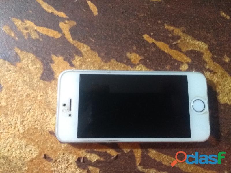 Iphone 5 con cargador y carcasa