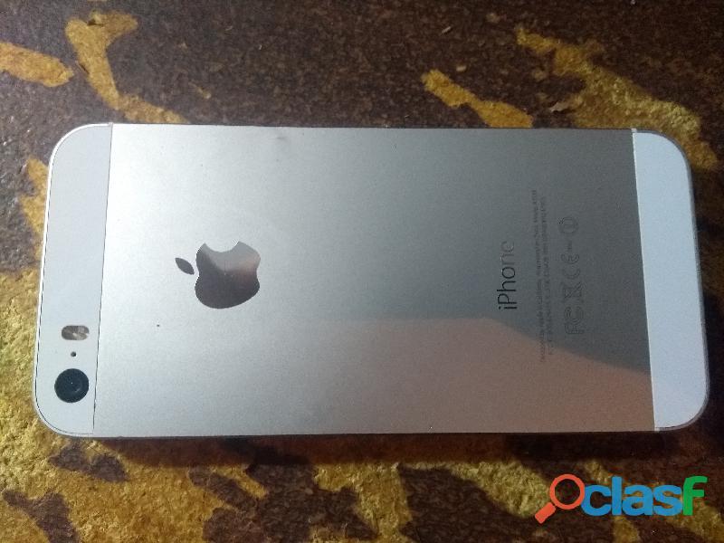 Iphone 5 con cargador y carcasa 1