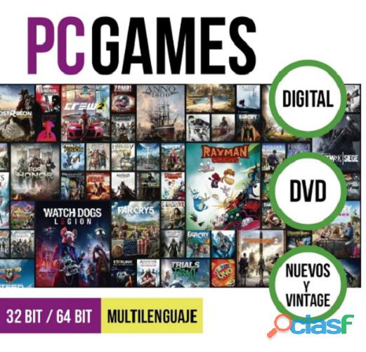 Juegos de Pc Digitales 2