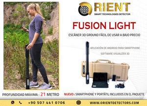 Escáner de suelo profesional OKM Fusion Light a precio