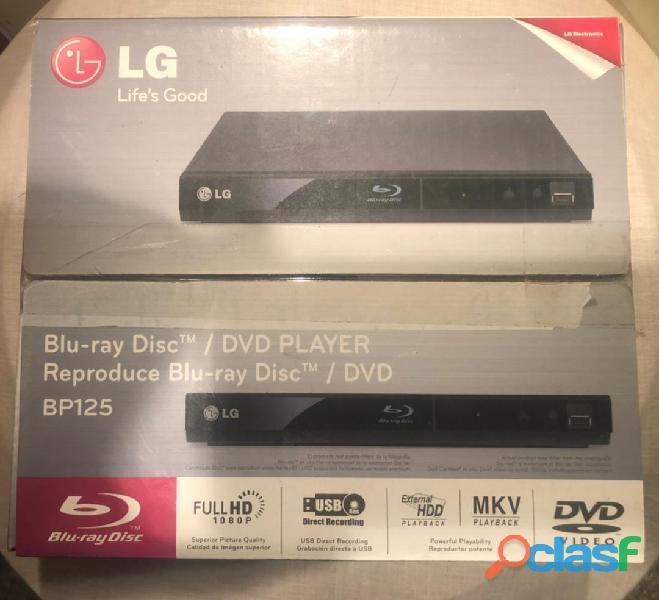 Reproductor Blu Ray LG BP125 Nuevo