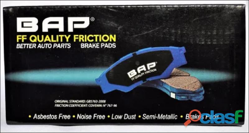 Pastillas de Freno BAP importadas varios modelos