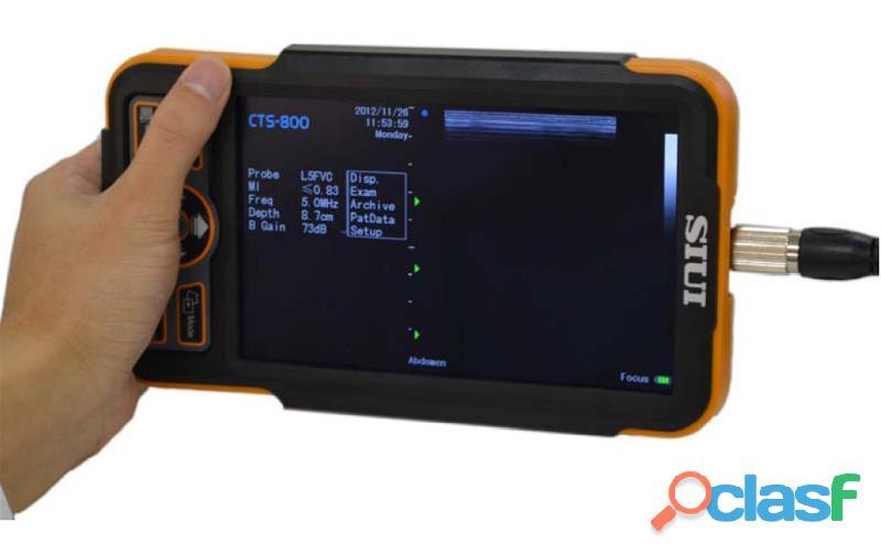 Ultrasonido Veterinario Nuevo SIUI CTS 800 Ecografo Entrega Inmediata ! 4