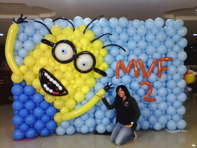 Cursos de decoración con globos