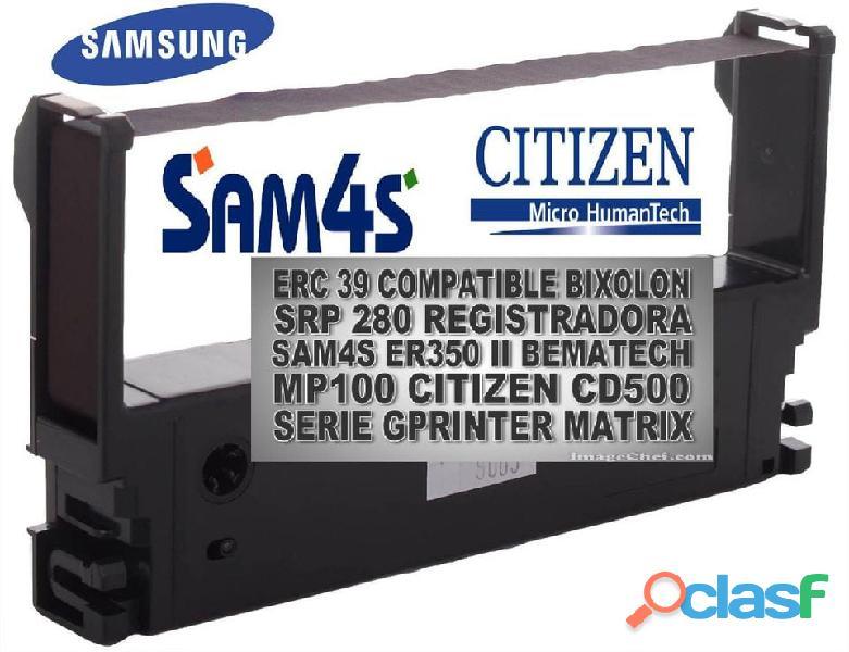 Cintas Epson Erc 39 Compatible Sam4s Bixolon Srp 280