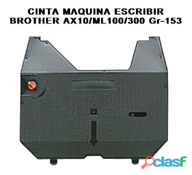 Cintas máquina escribir brother/ ax10 ml100 gr 153