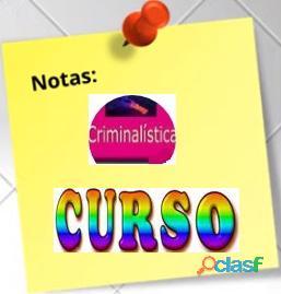 CURSO DE CRIMINALISTICA Y LAS CIENCIAS FORENSES ONLINE 1