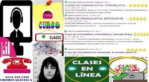 Curso de criminalistica, criminalistica educaciòn virtual,