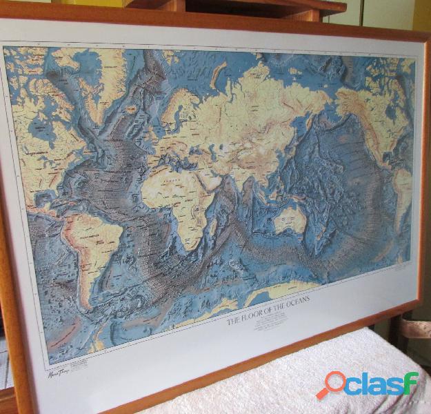 MAPAMUNDI THE FLOORS OF THE OCEANS 2