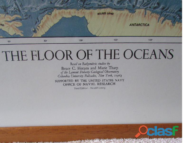 MAPAMUNDI THE FLOORS OF THE OCEANS 1