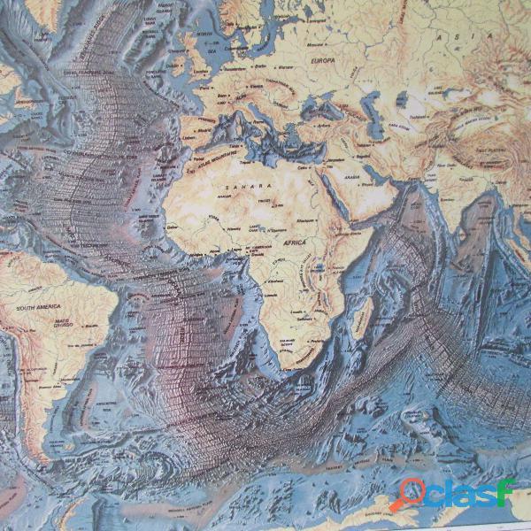 MAPAMUNDI THE FLOORS OF THE OCEANS 8