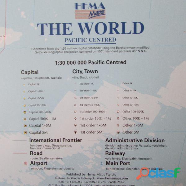 MAPAMUNDI THE WORLD 6