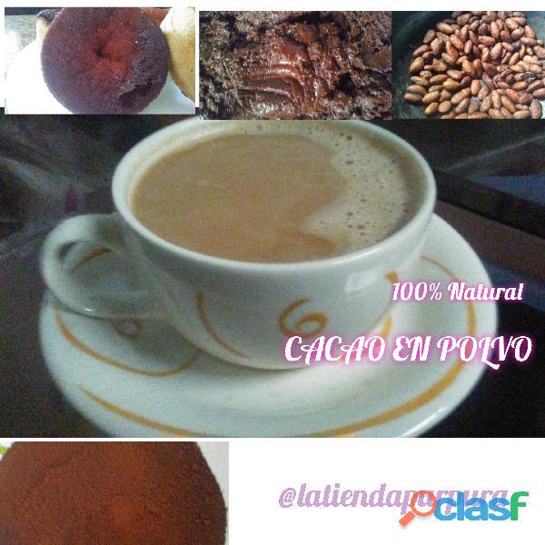 Cacao en polvo. 100% natural